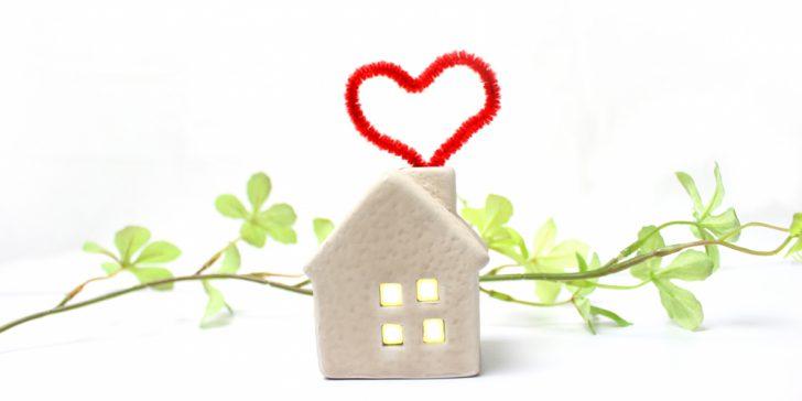 家とハート