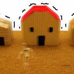 地震と家と人